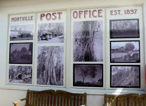 The New Post Office Window in the Village Square