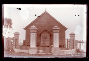 Hall and Memorial Gate early 1920s