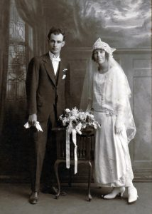 Robert Woof married Laura Skene on 26 April 1924