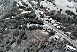 Aerial View of Main Street 1986