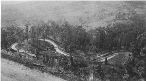 Horseshoe Bend, Palmwoods-Montville Road, 1928