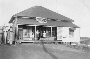 The Store housed the Post Office , 1948
