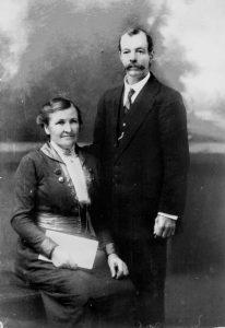 Agnes and William Skene C. 1915