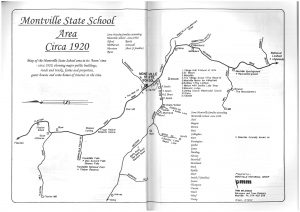 Montville State School Area Circa 1920
