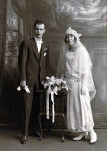 Robert Woof married Laura Skene on 26 April 1924