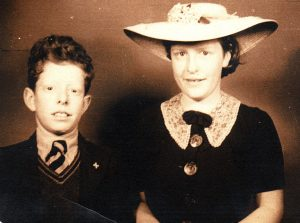 Robert Woof and his sister Laura