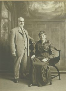 Early settlers Mr and Mrs Hamilton Muirhead