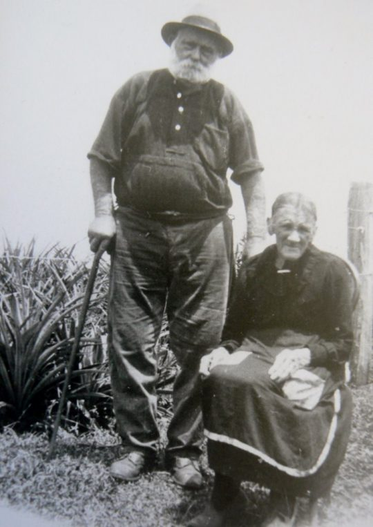 Edward William (Bill) and Caroline Vining