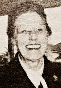 Hazel Tully nee Muirhead in 1987 at the Montville Centenary Photo courtesy Stephanie McLennan