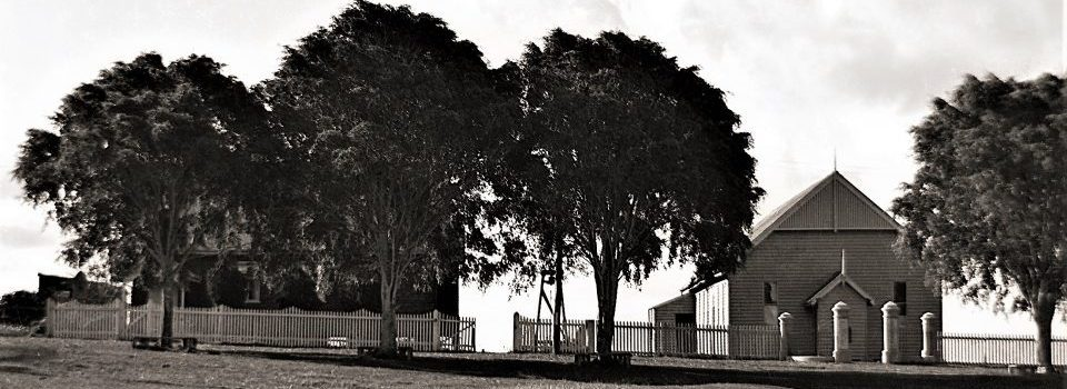 Memorial Trees and Hall, 1930s