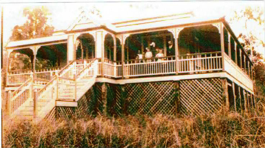 This is the house of the Shorts in Hunchy, early 1900s