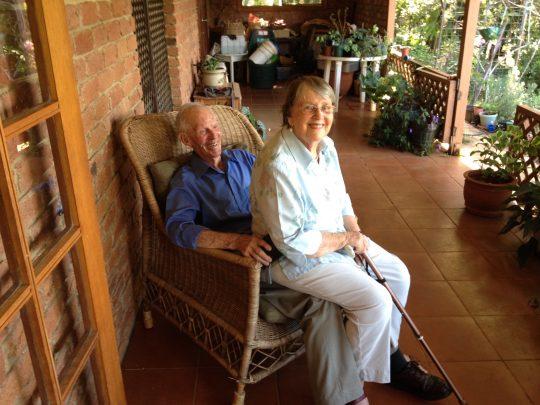 Dawne and Tony Barnett - 2013