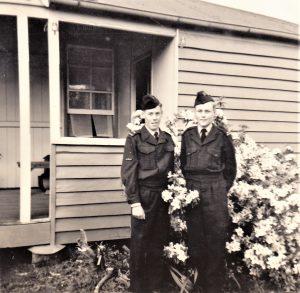 Brian Moore and Lester Hanson, 1963