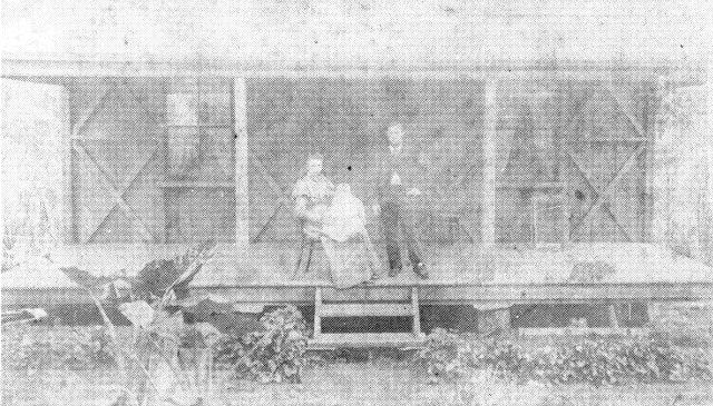 George and Annie Butt (nee Muirhead),1900