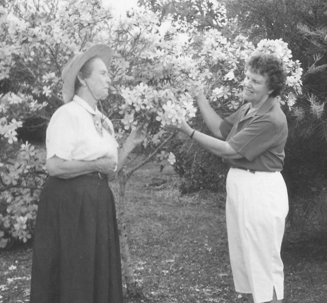 Lucy and Dawne_ca 1990_Cropped_BW
