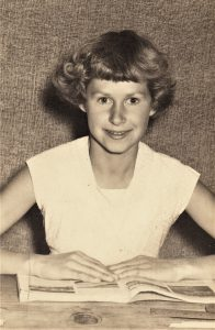 Pamela Moore about 1956