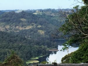 View from South end of Negus Road overlooking Mill Hill and Baroon Dam